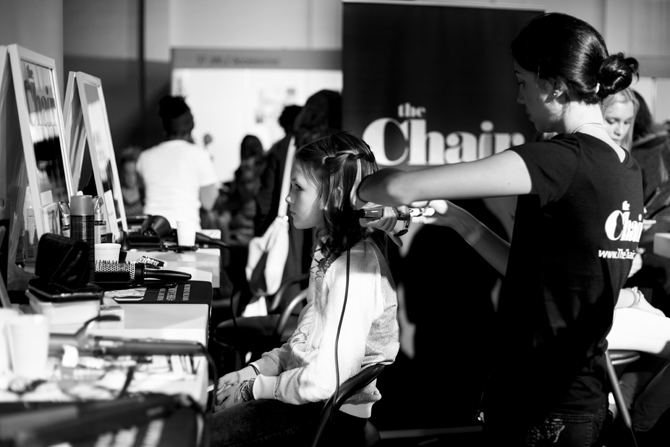 The Chair Talents bij Meiden Live event