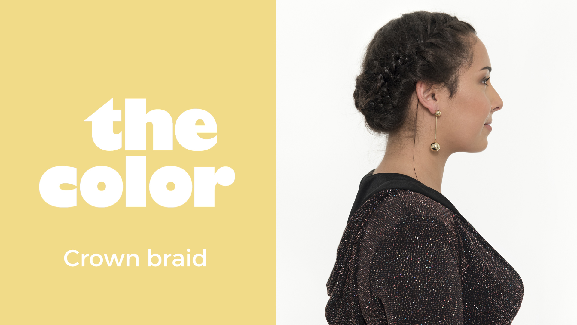 The Color tutorial | Crown Braid
