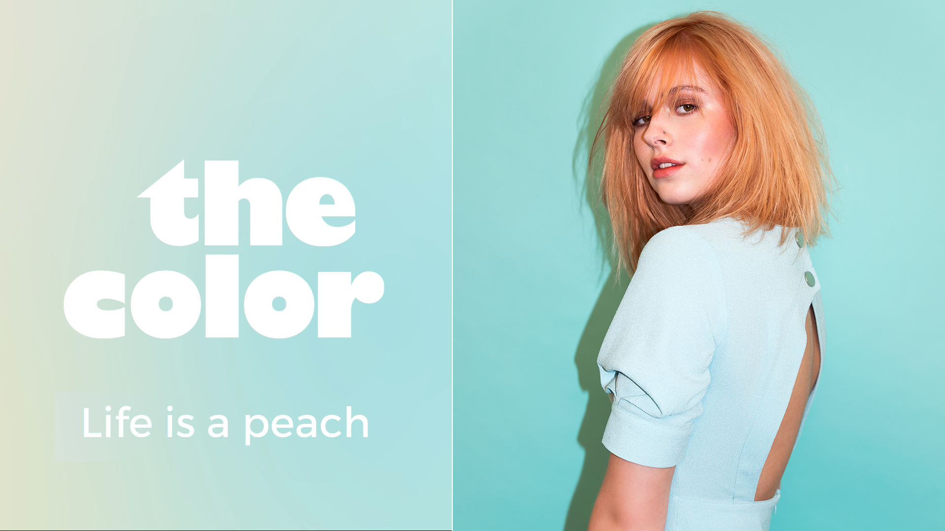The Color Tutorial | Peach Blonde Transformation