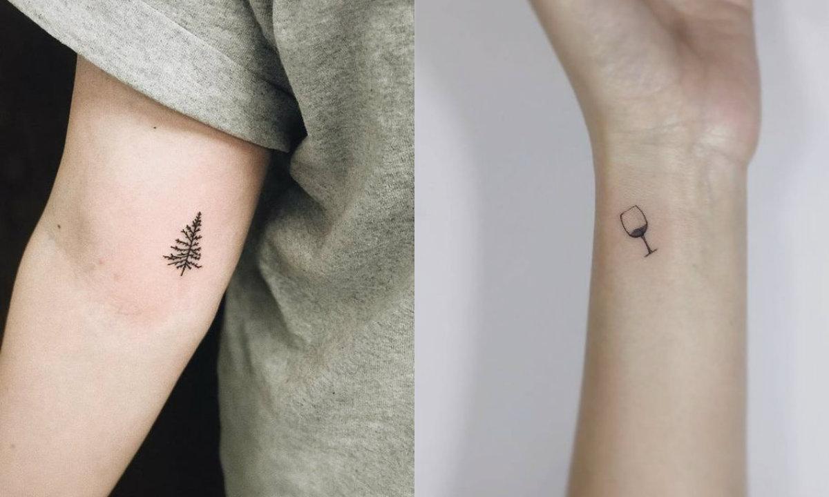 Tiny tattoos: de leukste inspiratie voor jouw tatoeage