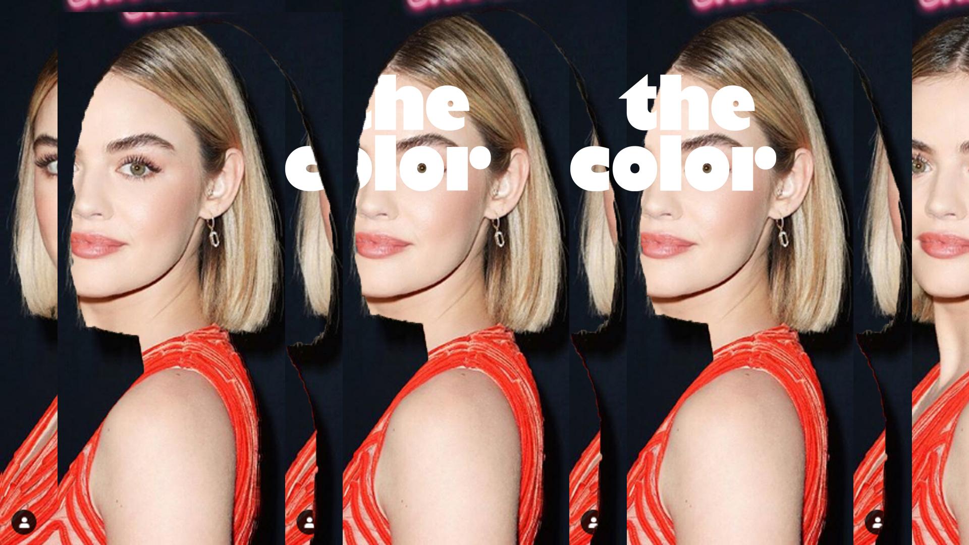 Hollywood introduceert de nieuwste haartrend: #glasshair