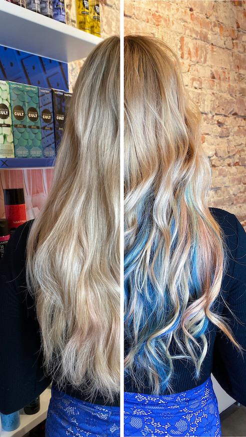 Haarkleur voor 1 dag!